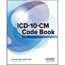 Ahima press icd 10 cm code book 2016